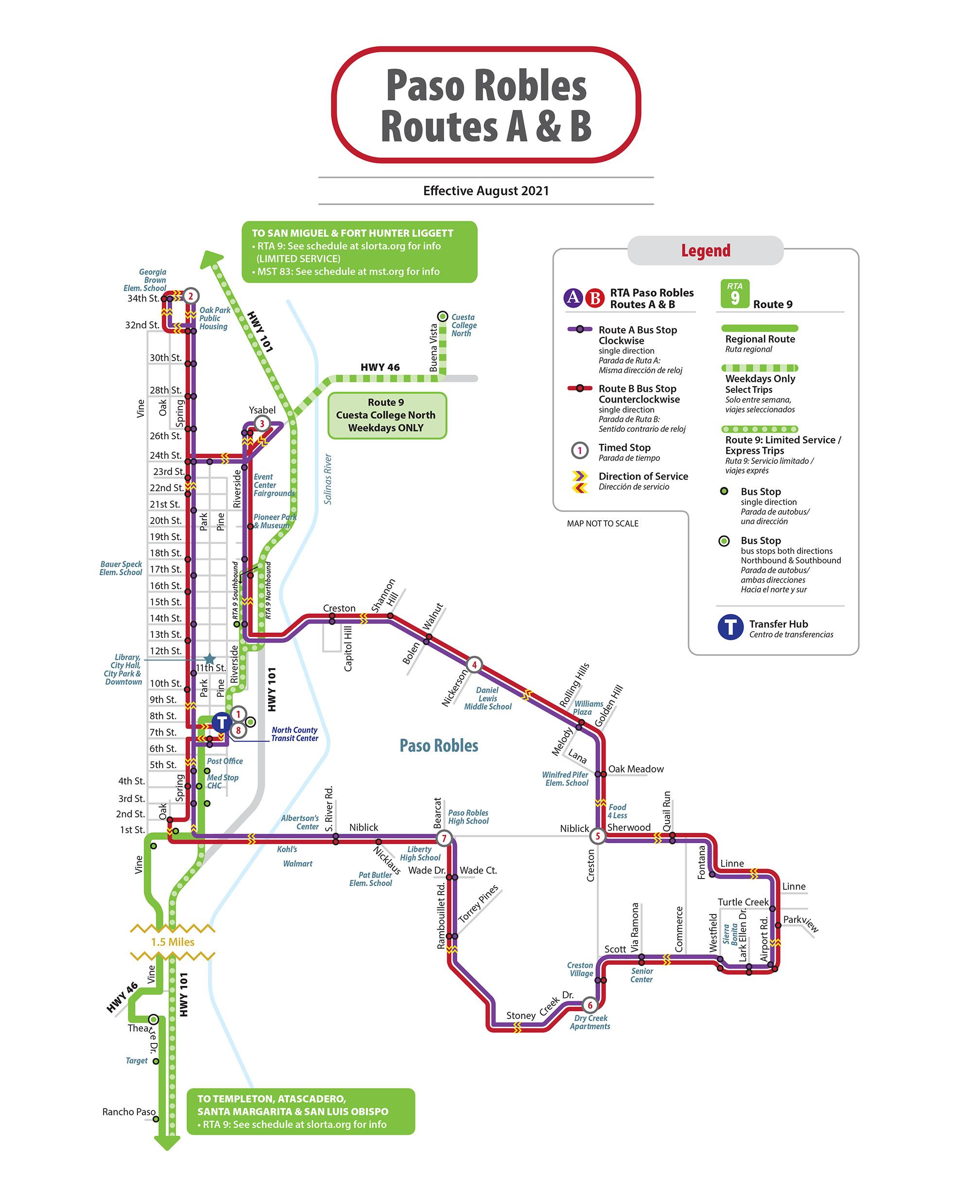 Paso Express San Luis Obispo Regional Transit Authority